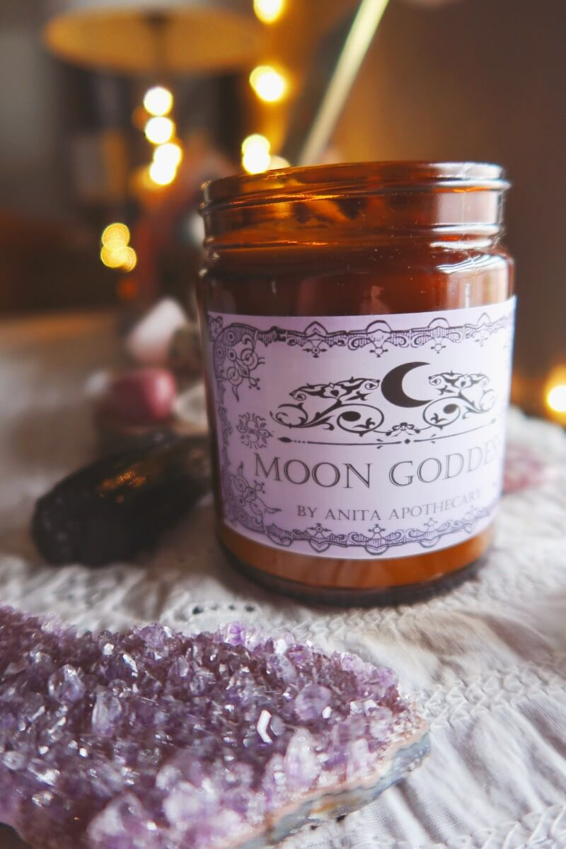 Anita Apothecary Moon Goddess Candle