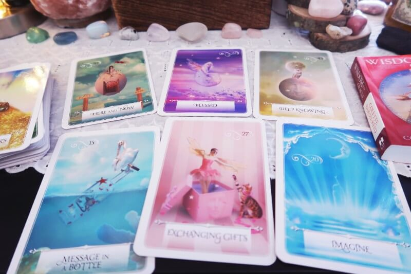 A list of my favorite oracle decks #witchythings #oracledecks #sacredselfcare #dwellinmagic
