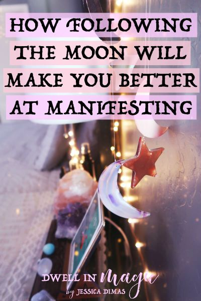 How Following the Moon Will Make You Better at Manifesting