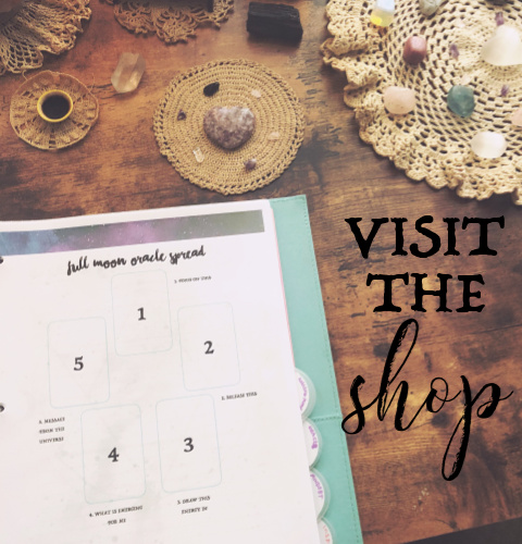 Visit the Dwell in Magic Shop - Ebooks, guides, worksheets for spiritual growth