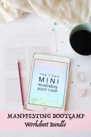 7 Day Manifesting Boot Camp