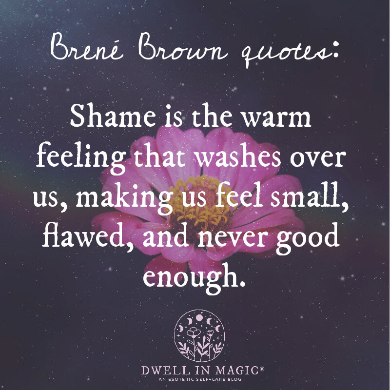 Brené Brown quotes help us to discover the infinite power that lies within the ability to let down our defenses and release the facades.