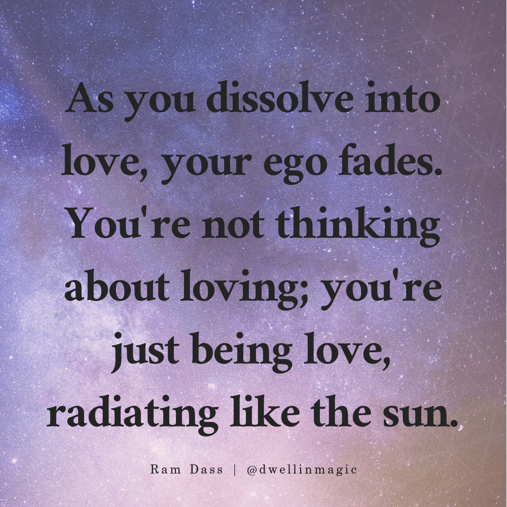 loving awareness quote ram dass