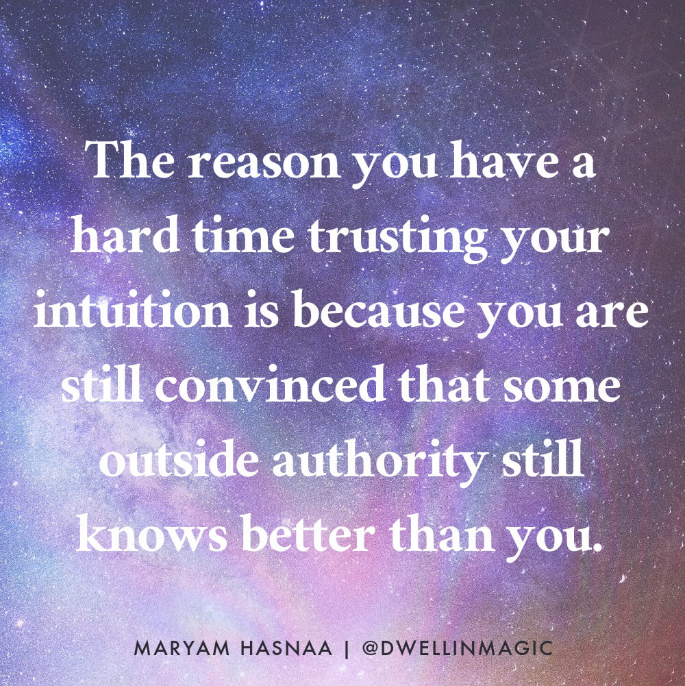 trust yourself quote