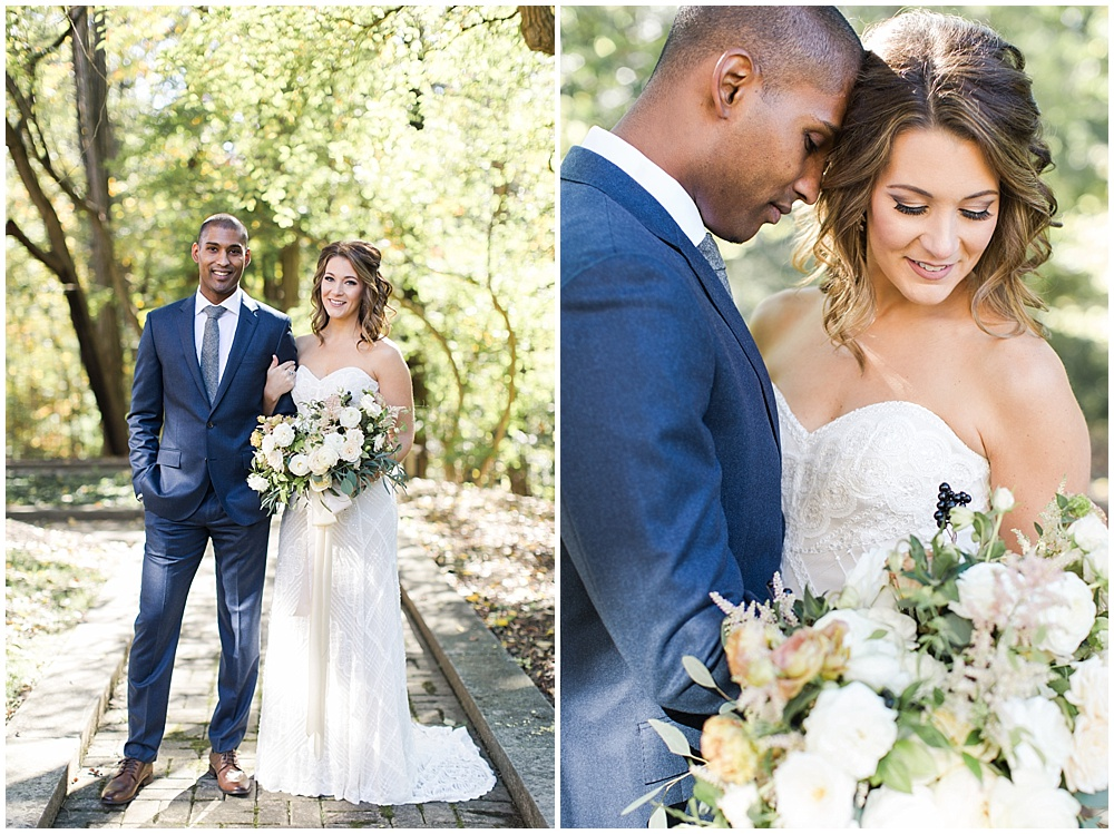 Navy and Gold wedding at Laurel Hall with Ivan & Louise Photography