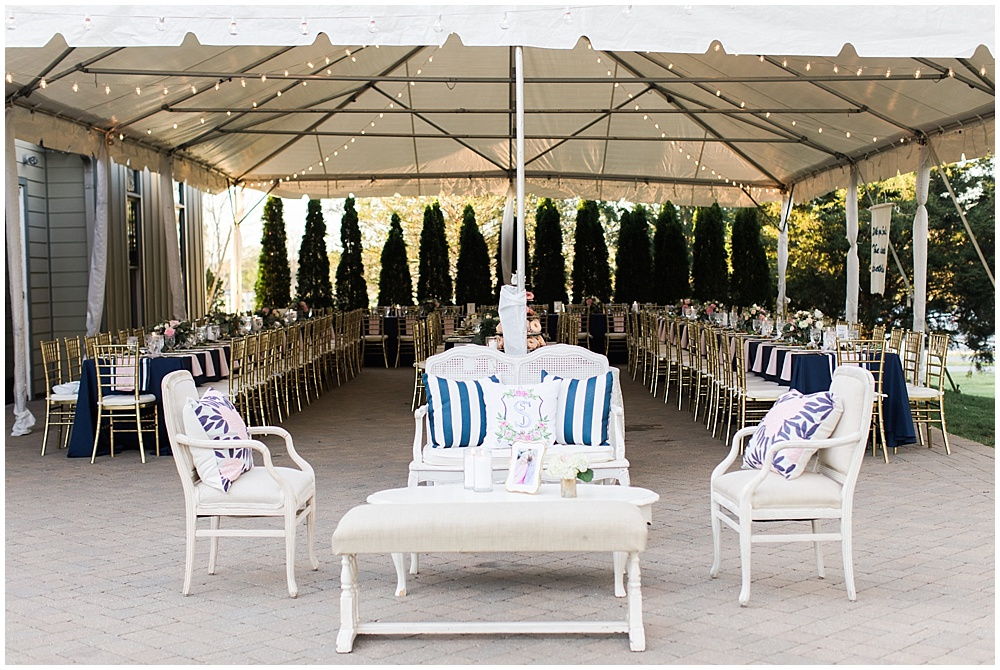 pink and navy seating, navy and pink southern wedding   Ivan & Louise Images and Jessica Dum Wedding Coordination