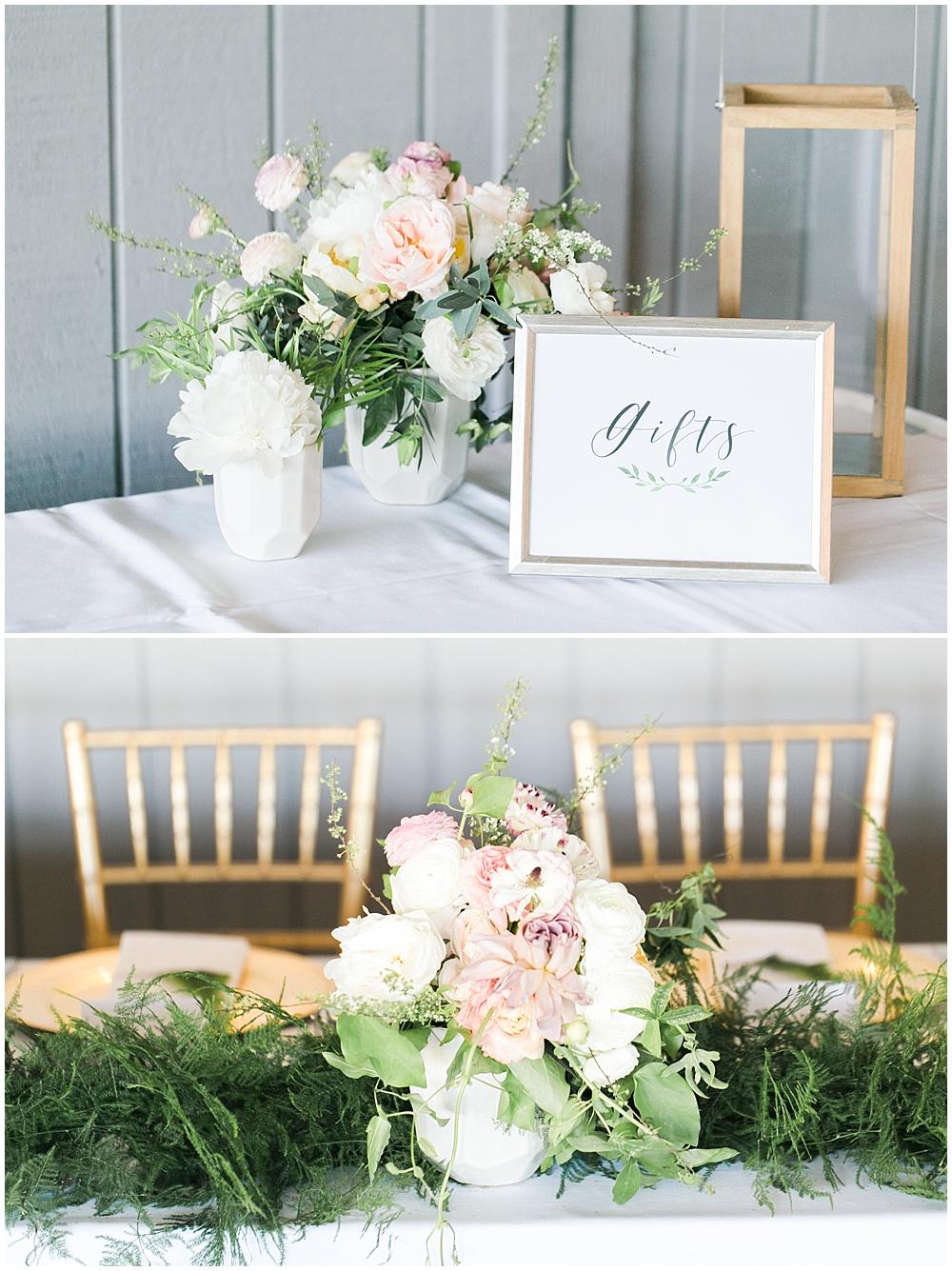 pink peony centerpieces, Spring floral + gold wedding | Ivan & Louise Images | Jessica Dum Wedding Coordination