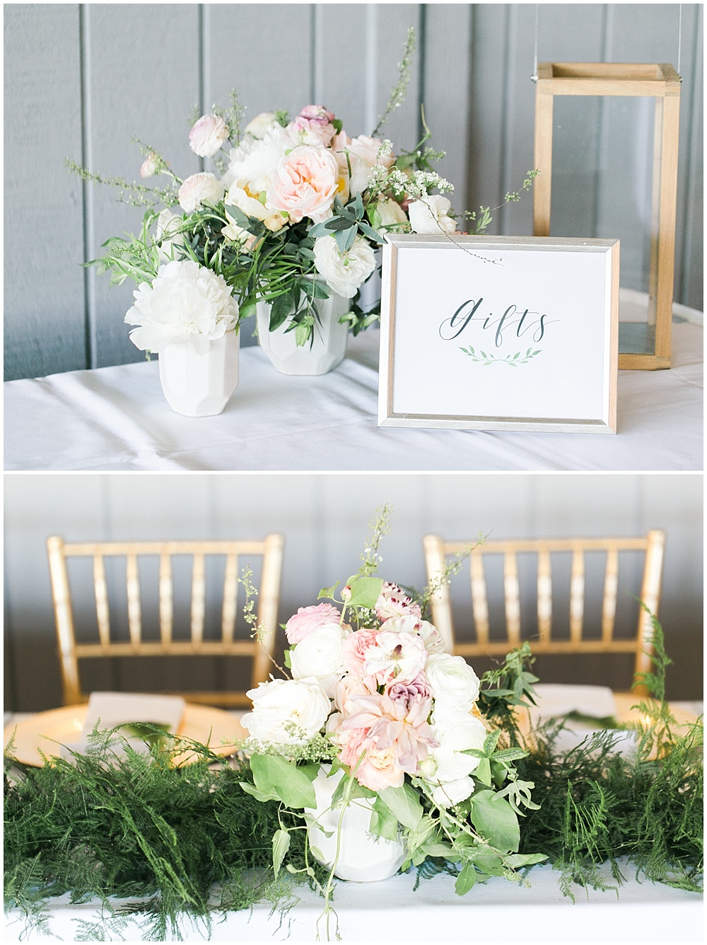 Spring floral + gold wedding with Ivan & Louise Images