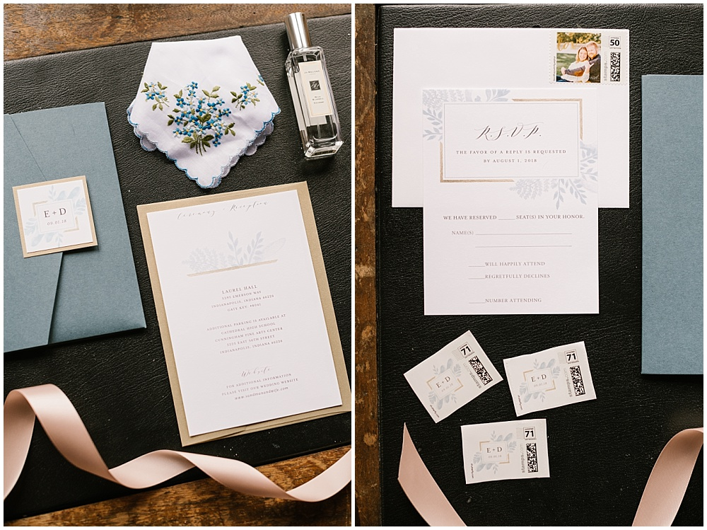 Fall Indianapolis wedding at Laural Hall with a gorgeous fall wedding color palette and burgundy blooms. | Jessica Dum Wedding Coordination