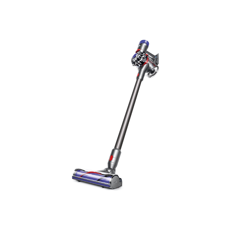 Dyson V7 Cordless Vacuum | Never use a corded vacuum again. The Dyson V7 vacuum is hands down the best vacuum we own, and I only wish I had bought it sooner. See all of our must-have items for your Amazon wedding registry!