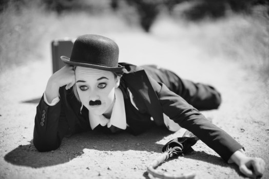 Screen Icons: Chaplin by Jessica Martin