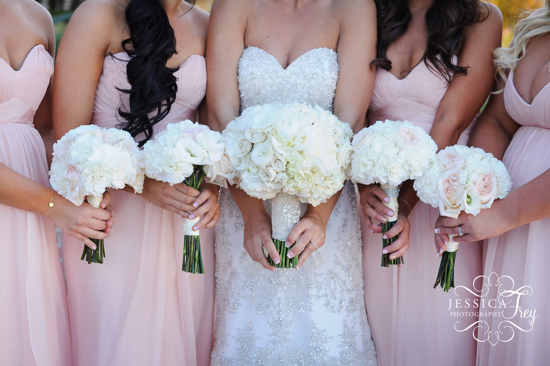 Wedding Party & Bridal Bouquet Flower Ideas