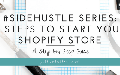 The First 3 Steps to Setting up Your Shopify Store
