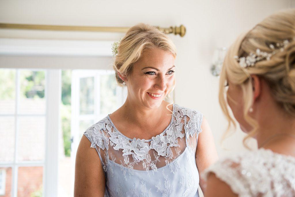 Bride with bridesmaid pre wedding photography