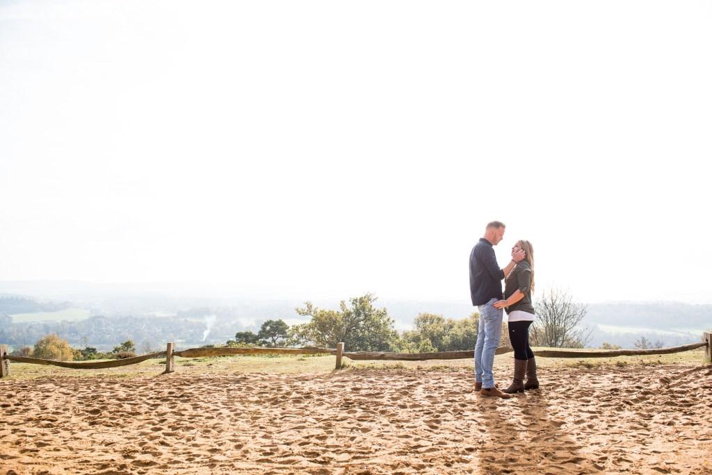 Engagement portrait photography Surrey