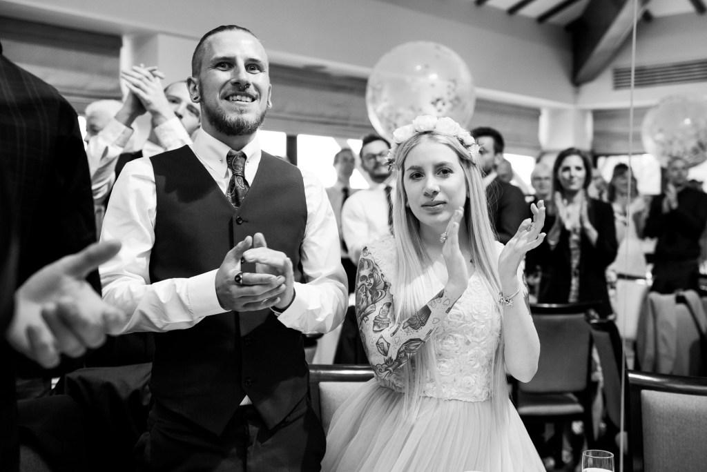 Creative wedding photography Berkshire