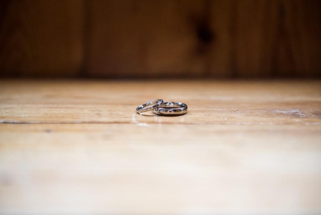 Wedding rings pre wedding photography Cornwall