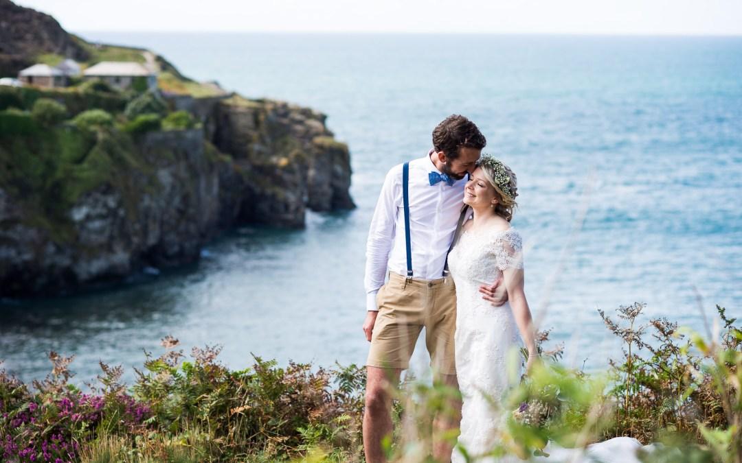 Cornwall Wedding Photography – Coastal Cornish Wedding