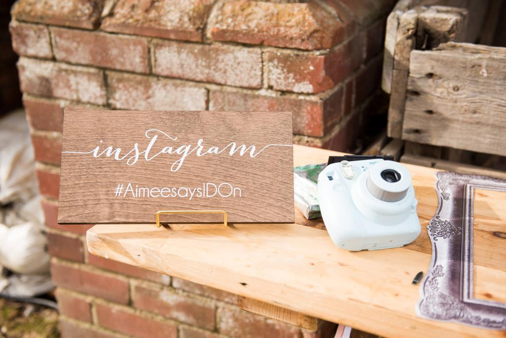 Instagram hashtag Norfolk wedding photography