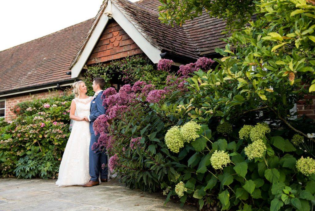 Wedding portrait Gate Street Barn