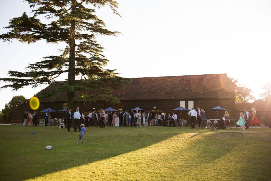 Surrey barn wedding venue