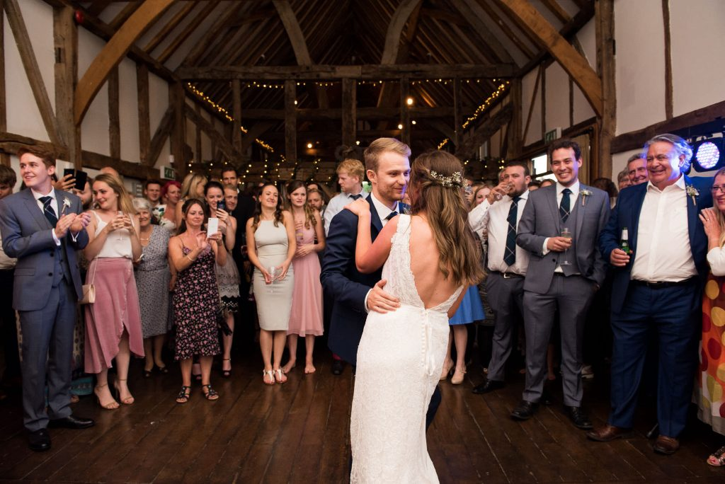First dance Loseley Park wedding