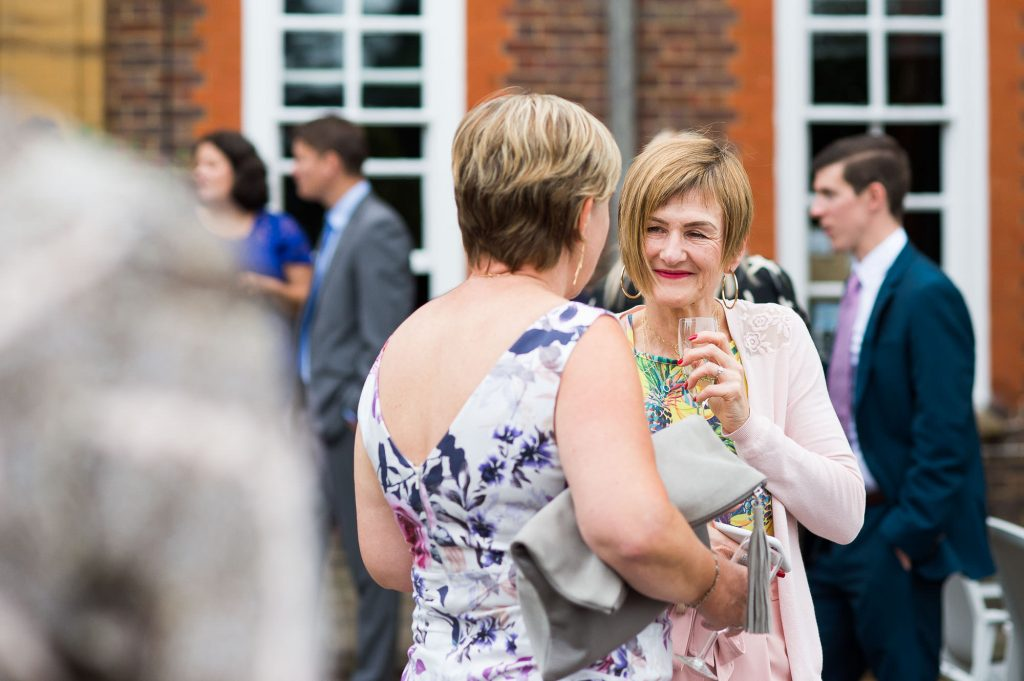 Candid guest photography Surrey wedding