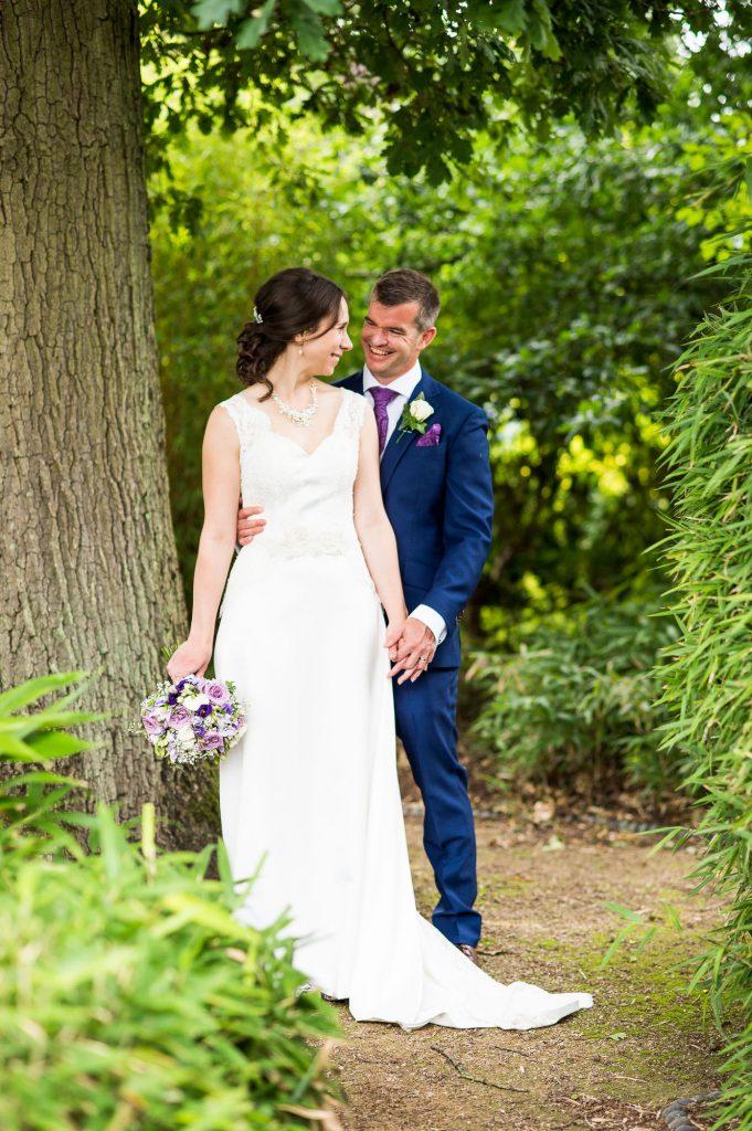 Surrey wedding portrait