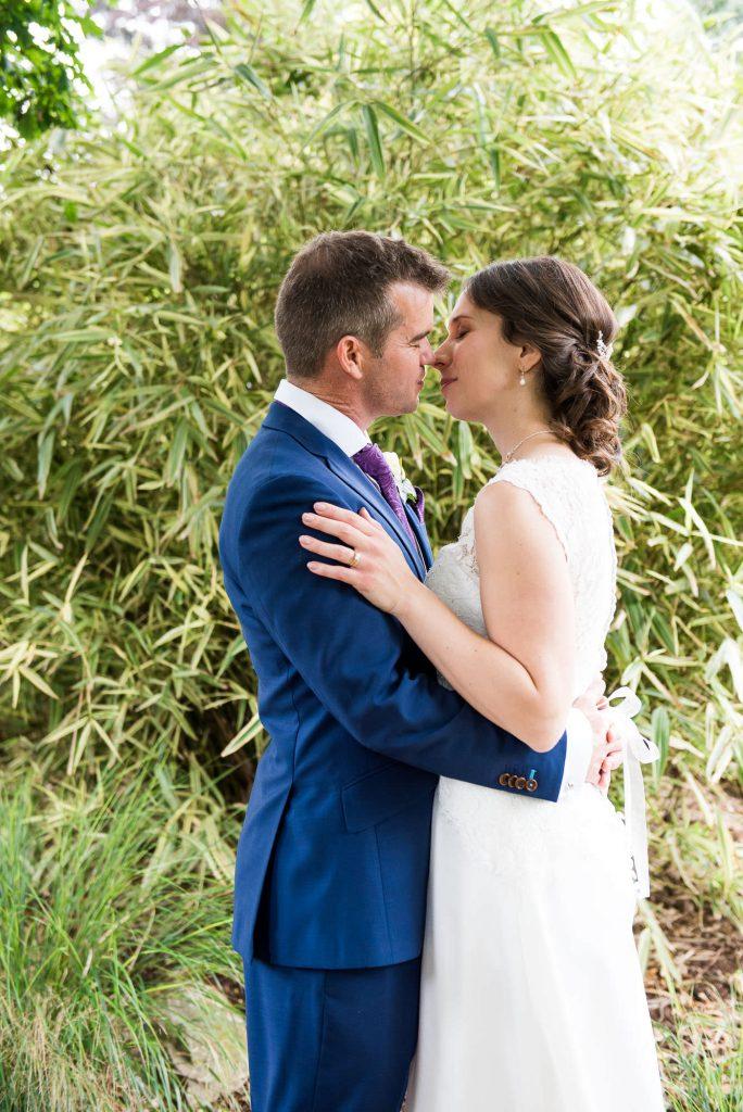 Natural wedding portrait Surrey wedding