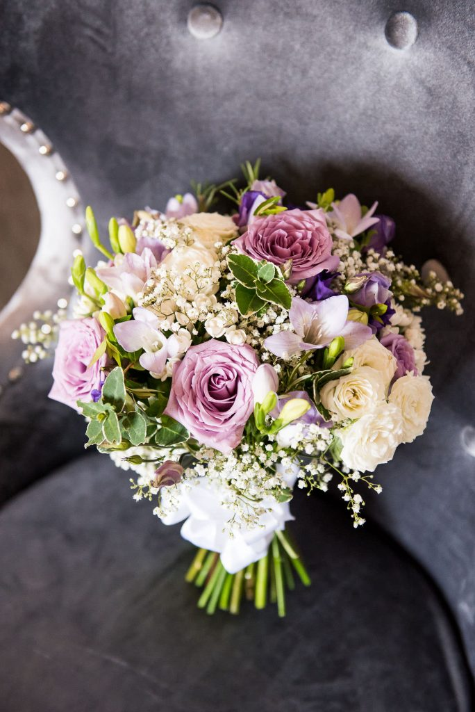 Beautiful bridal bouquet Surrey wedding