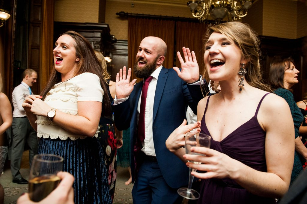 Ashridge House Wedding. Natural Wedding Photography. Relaxed and fun dance floor action.