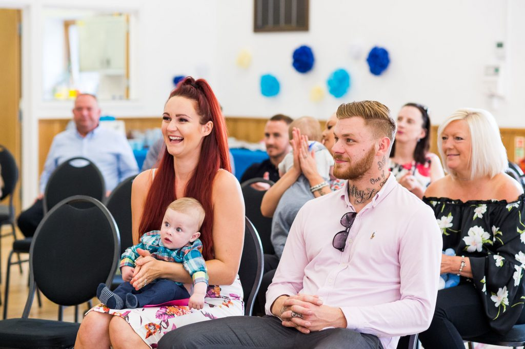 Naming Day Ceremony. Essex Family Photography. Baby Blessing at Highwood Village Hall.