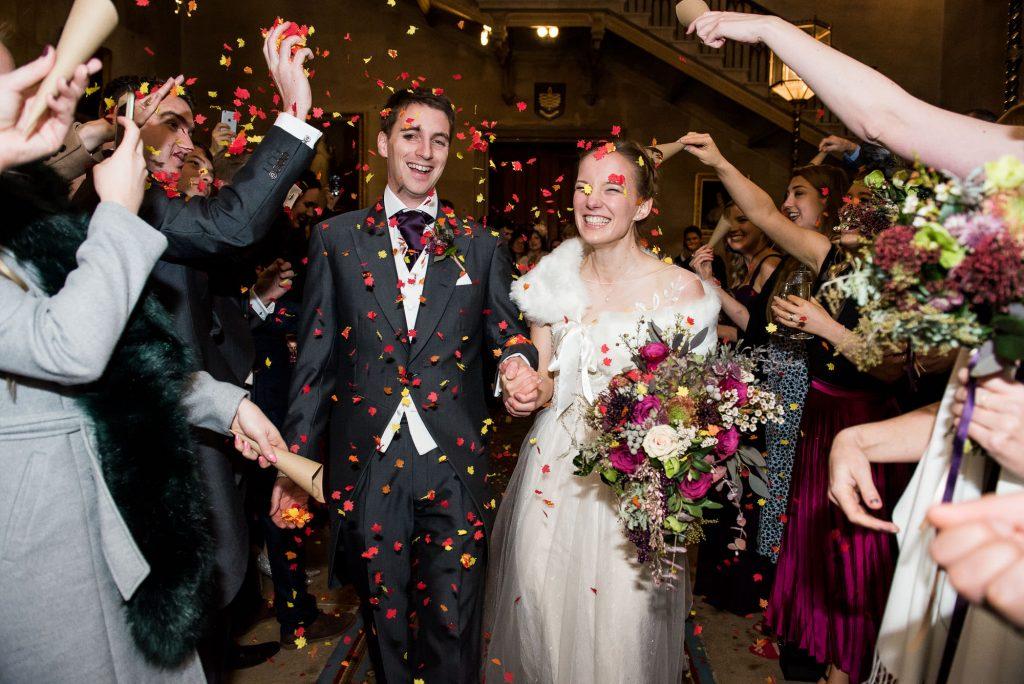 Wedding Confetti, Fun Documentary Wedding Photography Surrey, Alternative Wedding Confetti Ideas Paper Confetti