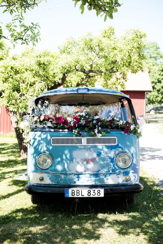 Swedish Wedding - Kroksta Gard - VW Camper Van Photobooth