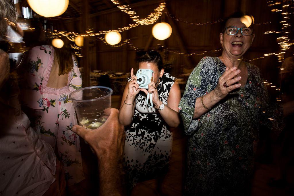Destination Wedding Photography Sweden - Artistic Lighting Dance Floor Photographs