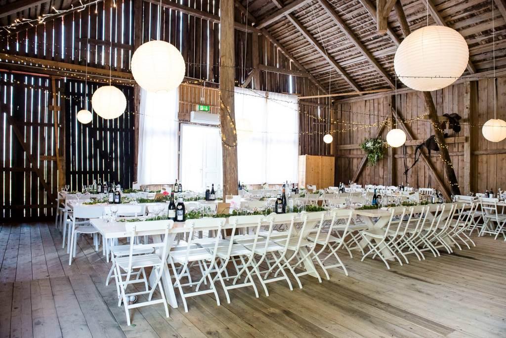 Swedish Wedding - Kroksta Gard Wedding - Rustic Barn Wedding Breakfast
