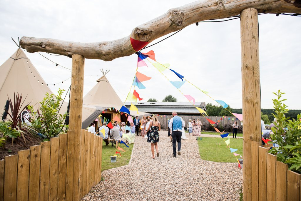 Inkersall Grange Farm Wedding - Same Sex Wedding Photography - Tipi Wedding