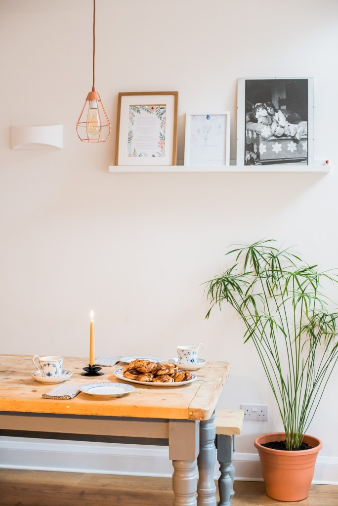 Hygge, LifeHygge, Lifestyle Tips for a More Hygge Home, Danish Pastries on Scandinavian House and Table