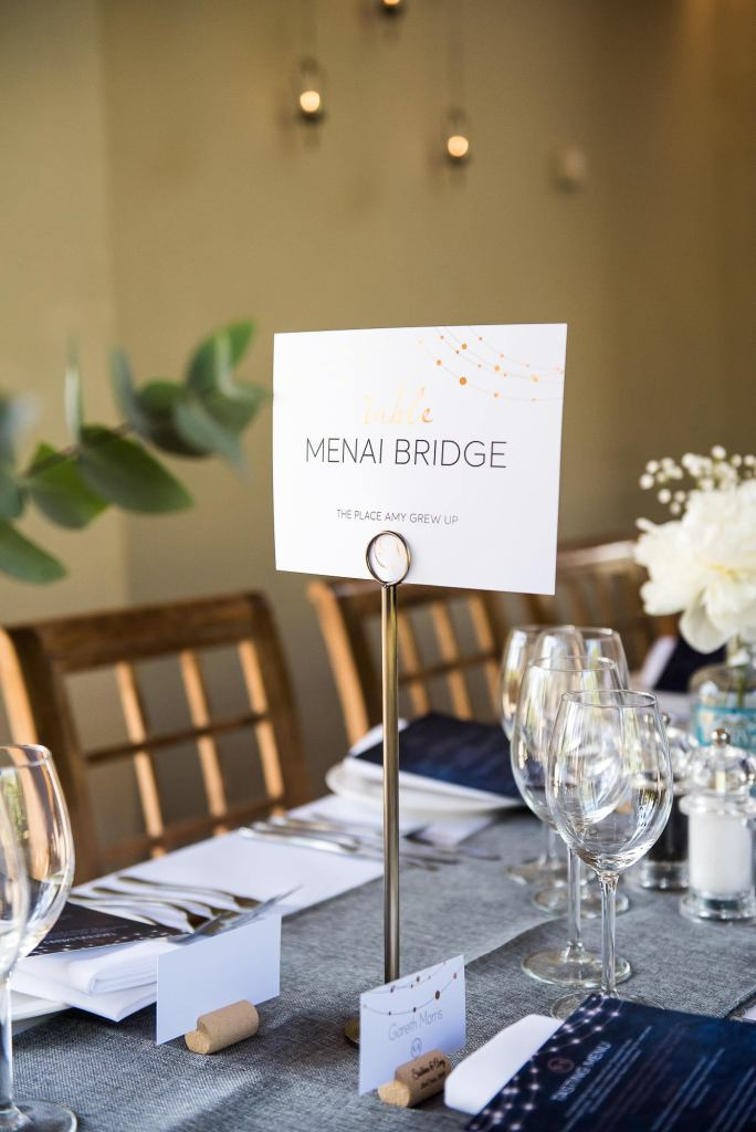 lgbt wedding photographer, sleek and chic wedding table names in modern gold calligraphy