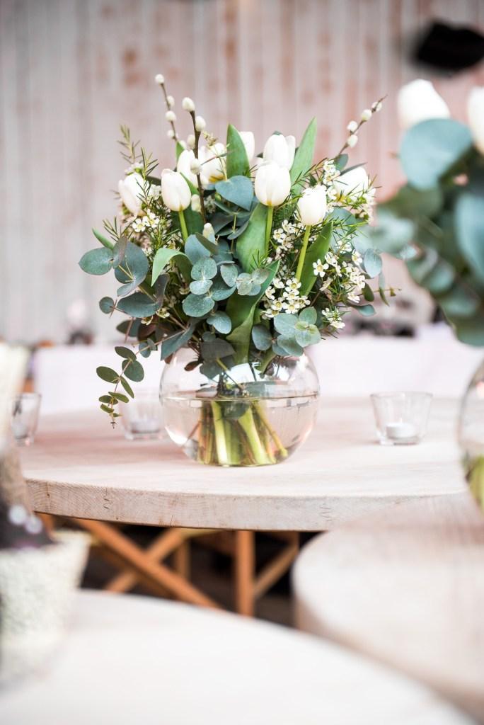 Botanical bouquet for Buckinghamshire wedding photography
