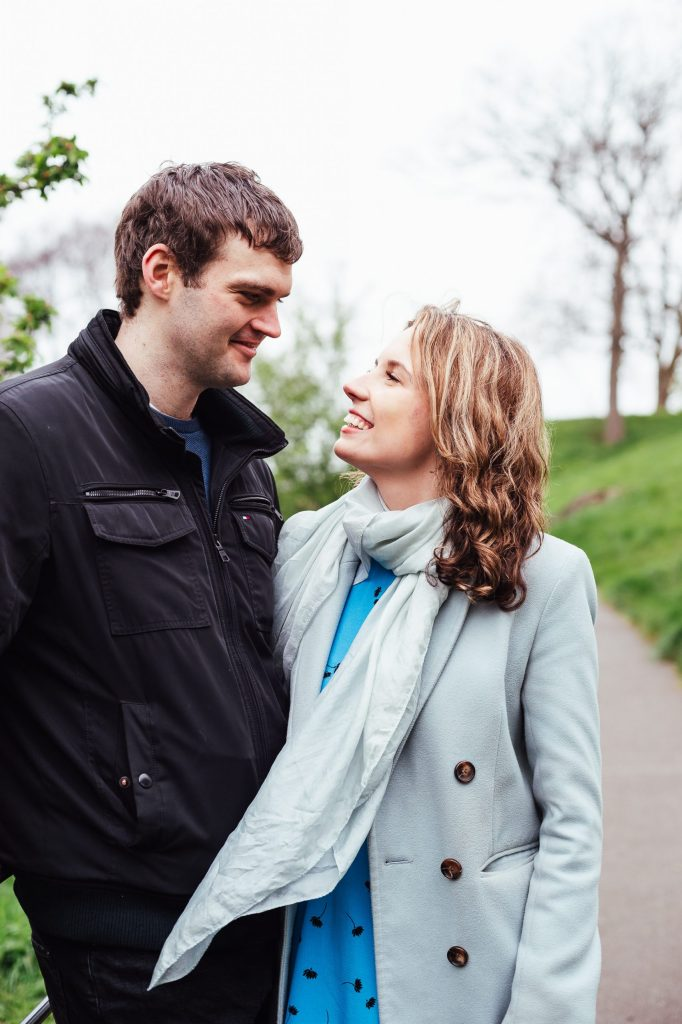 Relaxed and natural couples photography in London