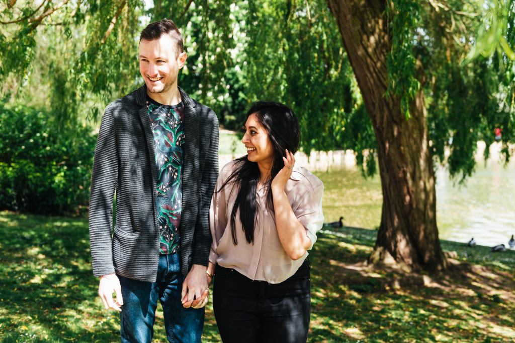 Forty Hall Engagement Shoot - Natural engagement shoot