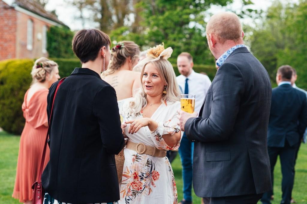Candid Surrey wedding photography