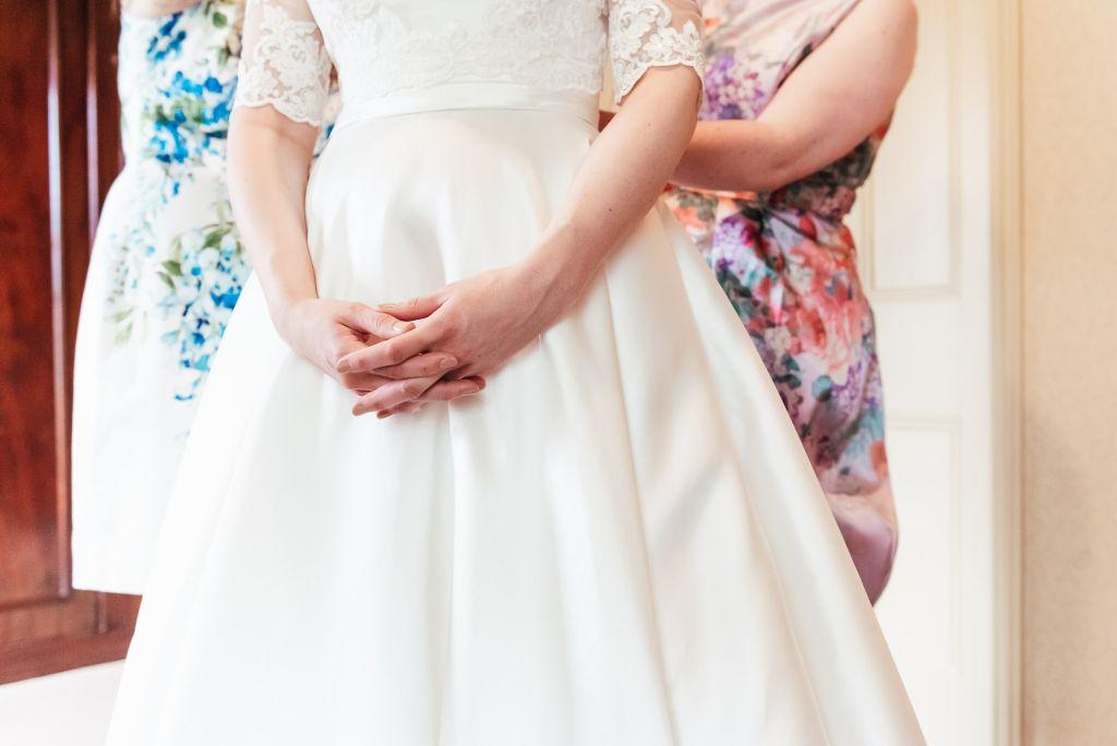 Documentary wedding bridal preparation photography