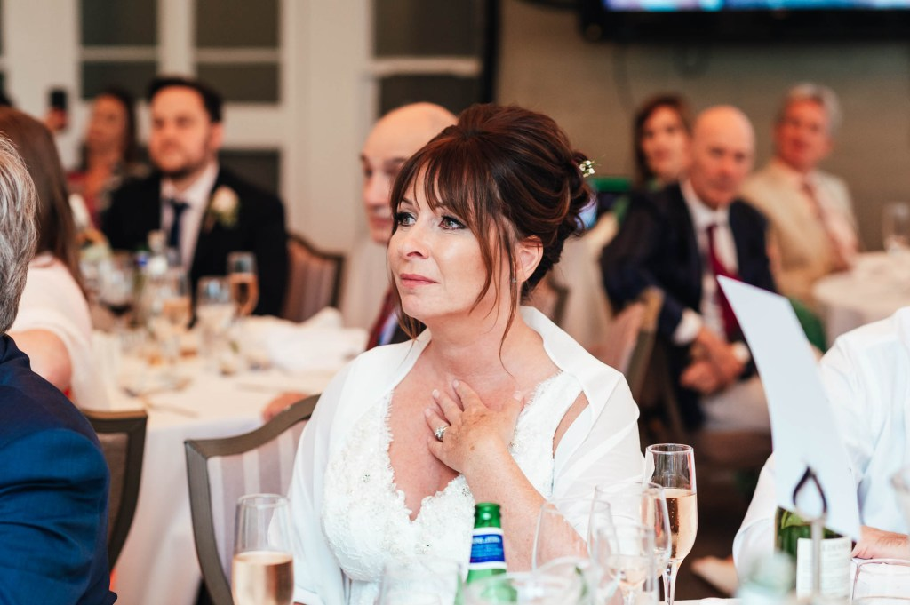 Emotional reactions to wedding speeches
