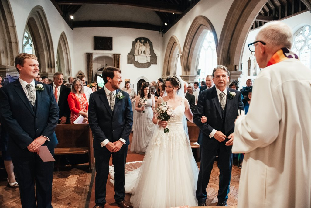 Documentary wedding photography Surrey