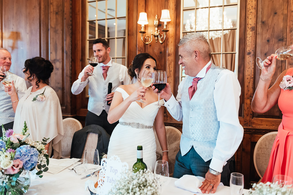 Relaxed wedding photography Surrey