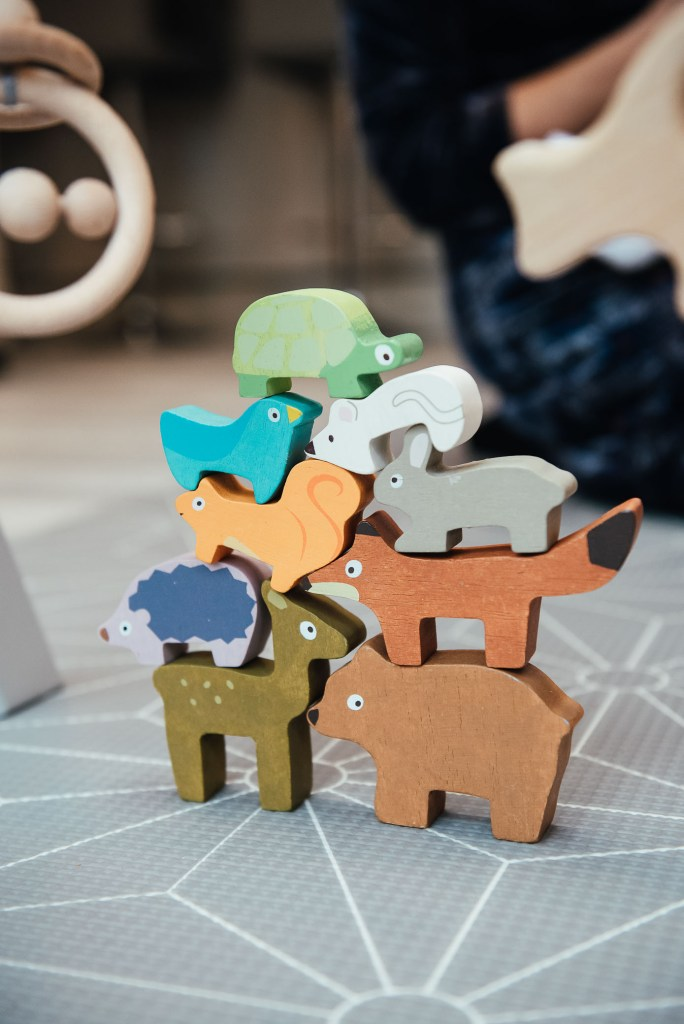 Wooden children's toys
