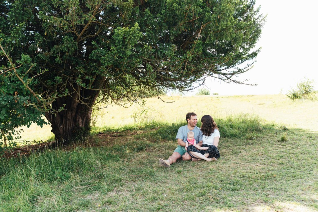 Relaxed Socially distanced Family Shoot