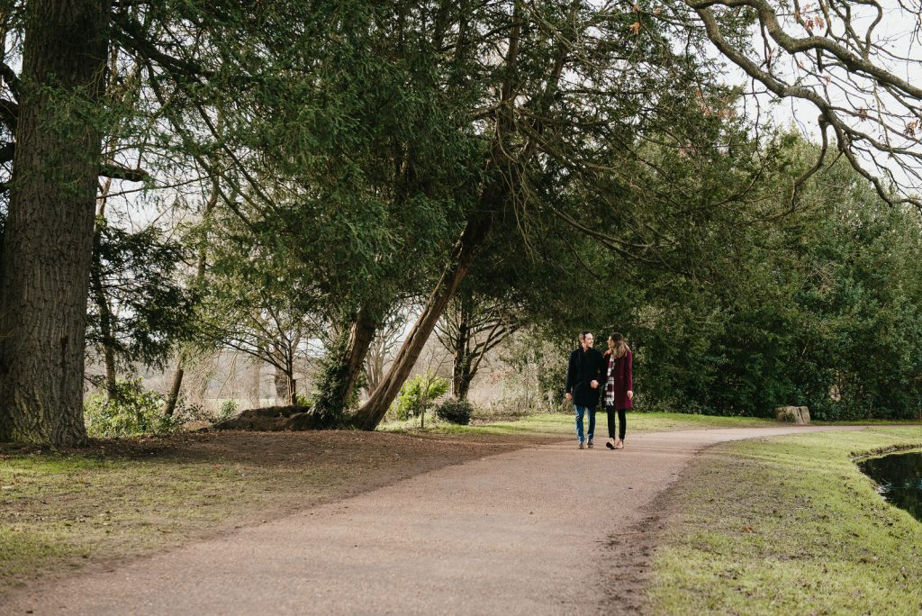 Natural and relaxed couples engagement photography